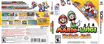 Mario Luigi Paper Jam 3ds The Cover Project