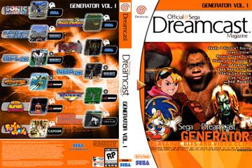 Official Sega Dreamcast Magazine: Generator Vol 1 (DC) - The Cover