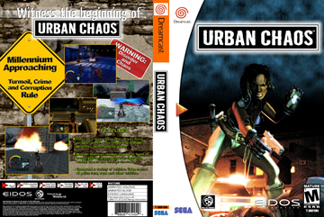 Urban Chaos (DC) - The Cover Project