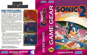 Sonic The Hedgehog 2 Gg The Cover Project