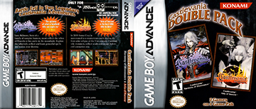 Castlevania Double Pack Gba The Cover Project