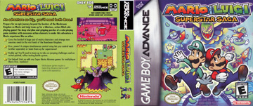 Mario And Luigi Superstar Saga Gba The Cover Project