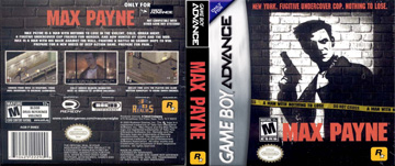 Max Payne Gba The Cover Project