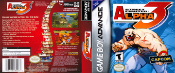Street Fighter Alpha 3 Gba The Cover Project