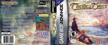 Tactics Ogre: The Knight of Lodis (GBA) - The Cover Project