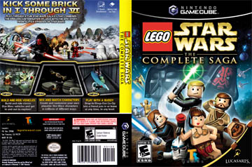 Lego Star Wars The Complete Saga Gc The Cover Project