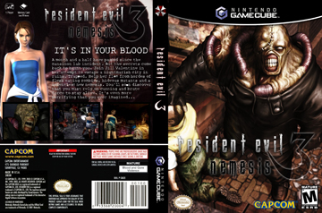 Resident Evil 3 Nemesis Gc The Cover Project