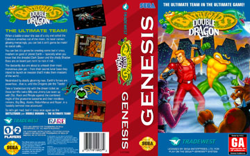 Battletoads Double Dragon The Ultimate Team Genesis The Cover Project