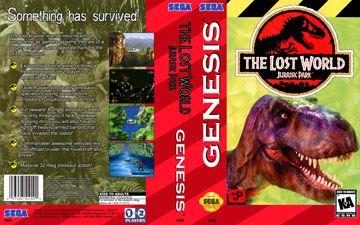 Lost World: Jurassic Park, The (Genesis) - The Cover Project