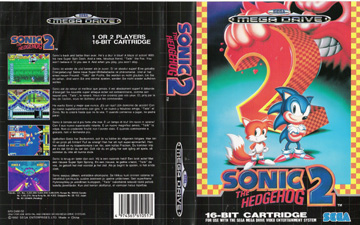 Sonic The Hedgehog 2 Genesis The Cover Project