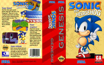 Sonic The Hedgehog Genesis The Cover Project