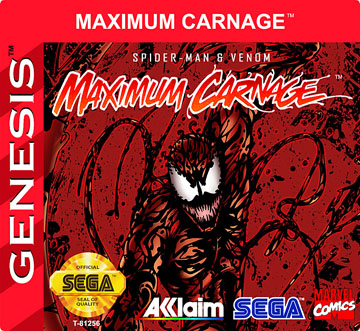 Maximum Carnage Genesis The Cover Project