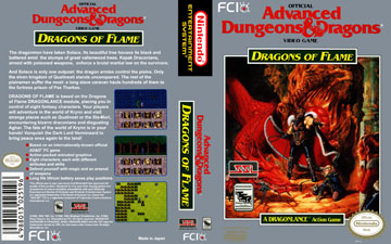Dungeons /& Dragons Dragons of Flame