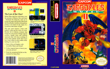 Gargoyle S Quest Ii Nes The Cover Project