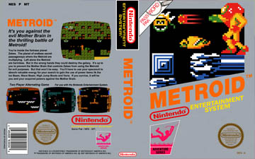 Metroid (NES) - The Cover Project