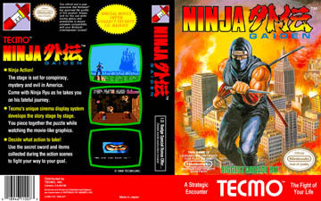 Ninja Gaiden Nes The Cover Project