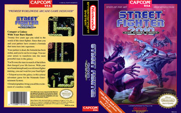 Street Fighter 2010 The Final Fight Nes The Cover Project