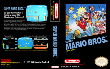 Super Mario Bros Nes The Cover Project