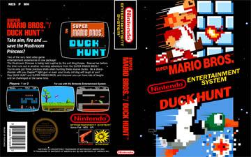 Super Mario Bros Duck Hunt Nes The Cover Project