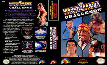 Wwf Wrestlemania Challenge Nes The Cover Project