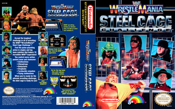 Wwf Wrestlemania Steel Cage Challenge Nes The Cover Project