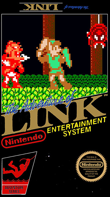 Zelda II: The Adventure of Link (NES) - The Cover Project