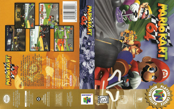 Mario Kart 64 N64 The Cover Project