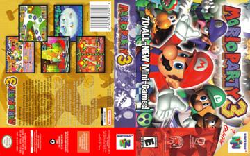 mario party 3 games