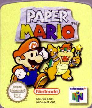 Paper Mario (N64) - The Cover Project