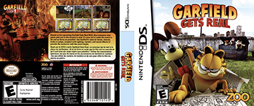 Garfield Gets Real Ds The Cover Project