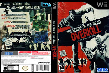 House Of The Dead Overkill The Wii The Cover Project