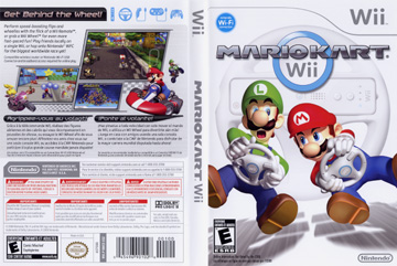 Mario Kart Wii Wii The Cover Project