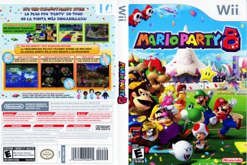 mario party 8 wii the cover project. Black Bedroom Furniture Sets. Home Design Ideas