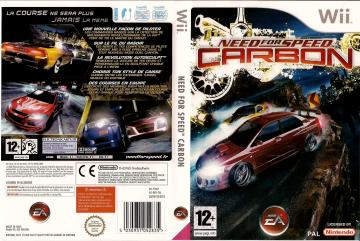 Need For Speed Carbon Wii The Cover Project