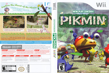 Pikmin Wii The Cover Project