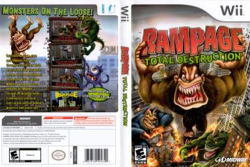 Rampage Total Destruction Wii The Cover Project