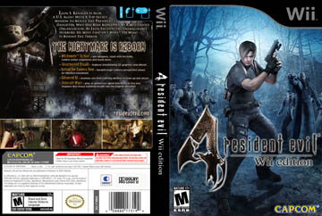 Resident Evil 4 Wii Edition Wii The Cover Project