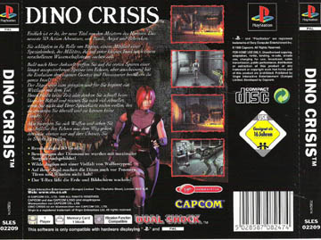 Dino Crisis (PS1) - The Cover Project