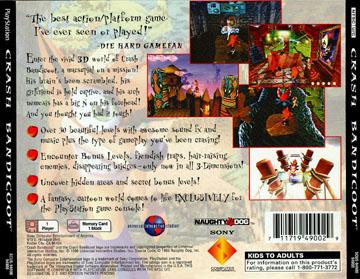 Crash Bandicoot (PS1) - The Cover Project