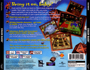 Crash Bash (PS1) - The Cover Project