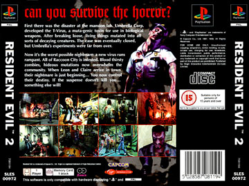Resident Evil 2 Ps1 The Cover Project