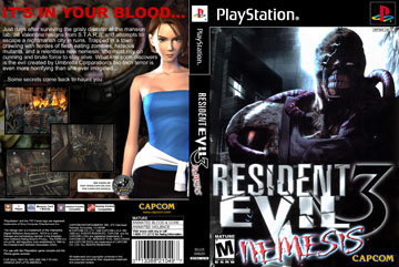 Resident Evil 3 Nemesis Ps1 The Cover Project
