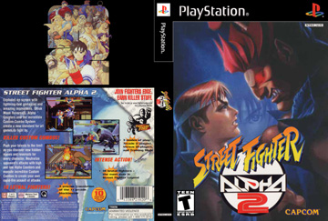 Street Fighter Alpha 2 Ps1 The Cover Project