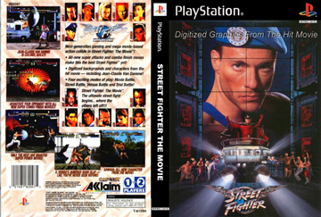 Street Fighter The Movie Ps1 The Cover Project