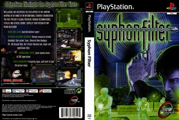 Syphon Filter (PS1) - The Cover Project