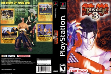 Tekken 3 Ps1 The Cover Project