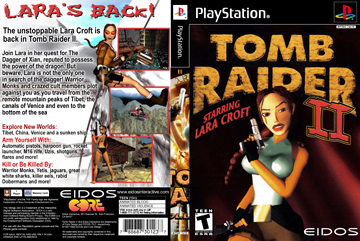 Tomb Raider Ii Ps1 The Cover Project
