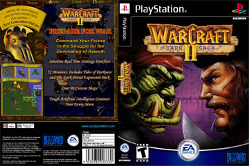 Warcraft Ii The Dark Saga Ps1 The Cover Project