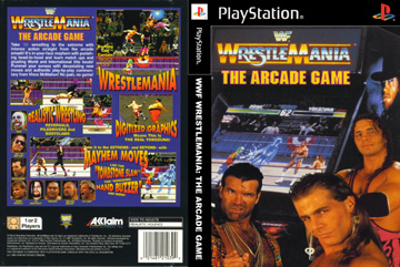 Wwf Wrestlemania The Arcade Game Ps1 The Cover Project