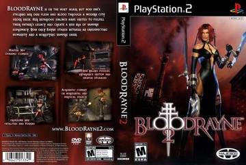 Bloodrayne 2 Ps2 The Cover Project